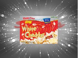 Magic Time pop corn White Cheddar 12st/frp