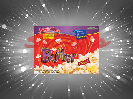 Magic time popcorn butter 12st/förp