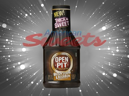 Open Pit Brown Sugar & Bourbon förp/12st