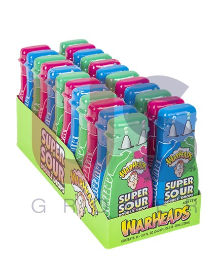 WarHeads Double Drops Liquid Förp/24st