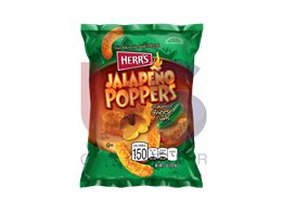 Herr's Jalapeno Poppers Cheese Curls förp/12st